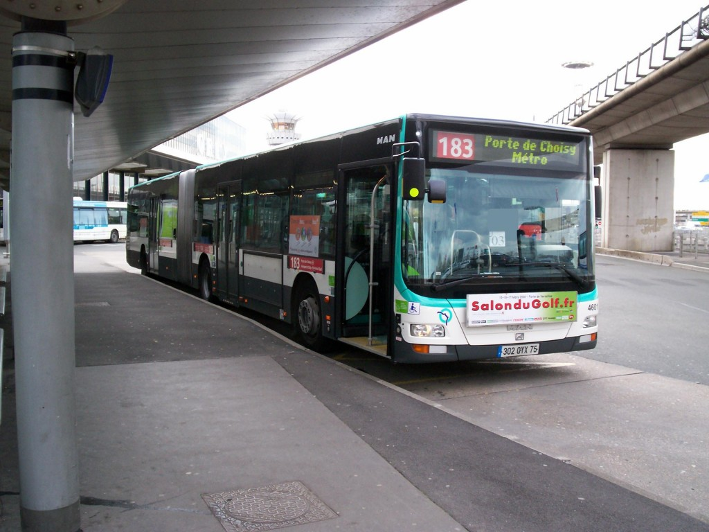 Aeroporto Orly : Paris orly airport: orlybus and bus